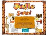 Jungle Safari Bingo Game