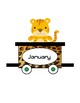 Jungle Safari Birthday Train