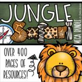 Jungle Safari Classroom Decorations and Management Mega Bundle