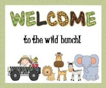 Jungle Safari Classroom Essentials