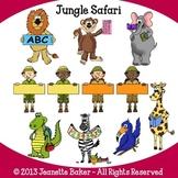 Jungle Safari Clip Art by Jeanette Baker