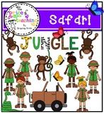 Jungle Safari Clipart Set