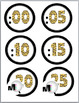 Jungle Theme Classroom Decor - Telling Time - Clock Labels