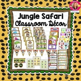 Jungle Safari Decor BUNDLE {Editable and PDF}