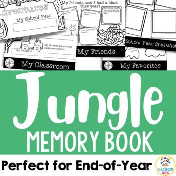 Jungle Safari Theme:  End-of-Year Memory Book