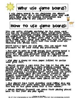 Jungle Safari Game Board