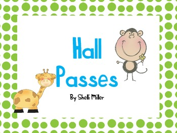 Jungle Safari Hall Passes