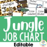 Jungle Safari Theme: Job Chart