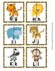 Jungle Safari Letter Match Puzzles