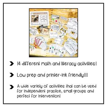 Jungle Safari Math and Literacy Fun
