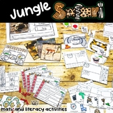 Jungle Animal Safari | Math and Literacy Activities |
