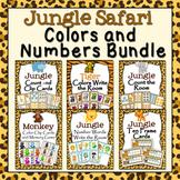Jungle Safari Numbers and Colors Bundle