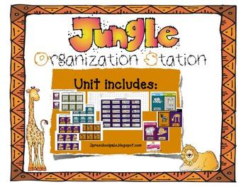 Jungle Safari Organization Station