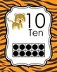 Jungle Safari Ten Frame Posters 0-20