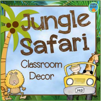 Jungle Theme Classroom - Jungle Decor