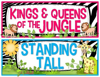 Jungle Safari Theme Behavior Management Kit