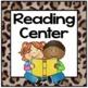 Jungle Theme Center Signs - Jungle Theme Classroom Decor