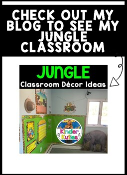 Jungle / Safari Theme Days of the Week Signs