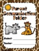 Jungle / Safari Theme Folder & Binder Covers (Parent,Homework,Substitute)