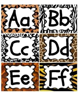 Jungle / Safari Theme Word Wall Headers