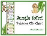 Jungle Safari Themed Behavior Clip Chart