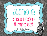 Jungle Safari Themed Classroom Decorations {200 pages}