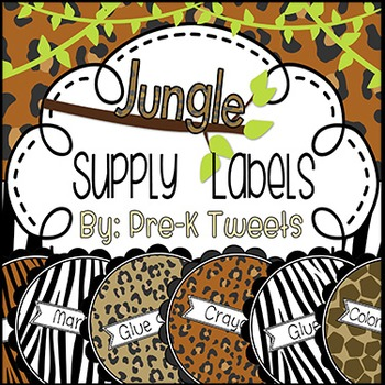 Jungle Supply Labels