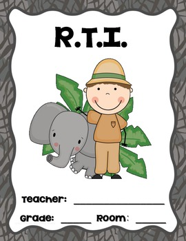 """Jungle Teacher Binder Covers and 2"""" Spines"""