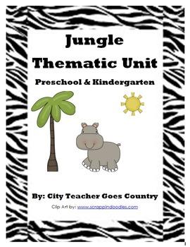 Letter J - Jungle Thematic Unit