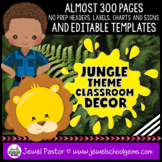 Jungle Theme Classroom Decor