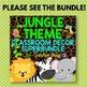 Jungle Theme Classroom Decor