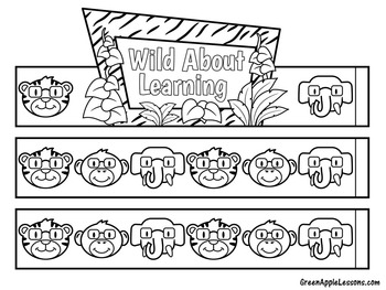 Jungle Theme | Jungle Theme Activity | Jungle Theme Craft