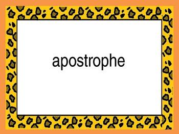 Jungle Theme - Academic Vocabulary  - ELA  3rd Grade