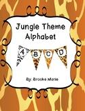 Jungle Theme Alphabet