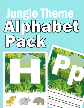Jungle Theme Alphabet Pack