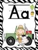 Jungle Theme Alphabet Posters