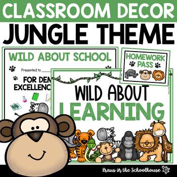 Jungle Theme - Classroom Decor