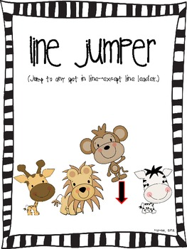 Jungle Theme Behavior Catalog