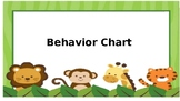 Jungle Theme Behavior Chart