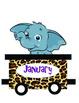 Jungle Theme Birthday Train