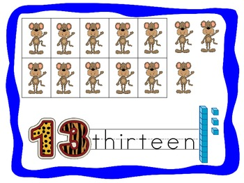 Jungle Theme Bulletin Board Numbers 0 - 20 and 10 - 100