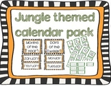 Jungle Theme Calendar Pack