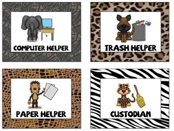 Jungle Theme Classroom Decor *Starter Pack*