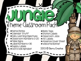 Jungle Theme Classroom Pack
