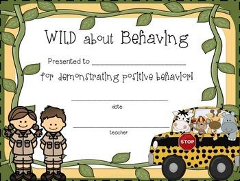 Jungle Theme Classroom Rules