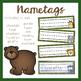 Jungle Theme Classroom Signs and Name Tags (Editable)