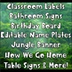 Jungle Theme Classroom Start-Up Bundle ~ Over 300 Pages