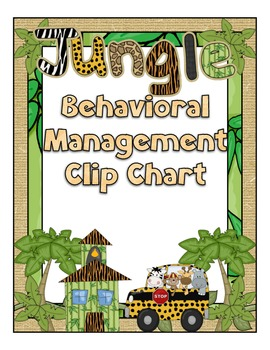 Behavior Clip Chart - Jungle