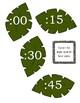 Jungle Theme Clock Labels