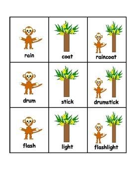 Jungle Theme Compound Words